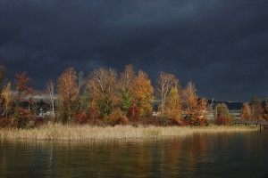 The west wind can create an awe-inspiring autumn storm.