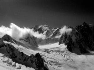 The stunning Mount Blanc inspired Shelley to write this poem by the same name.