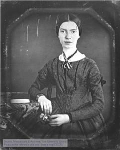 Emily Dickinson, American poet.