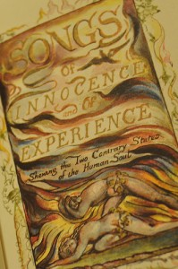 "William Blake [Blake's own illustration, from the Tate Museum, Liverpool] Photographed by Flickr.com user ""poppy"" April 21, 2009 Creative Commons License"
