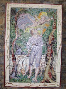 Mosaics of Blake's works have been installed in London by Southbank Mosaics.