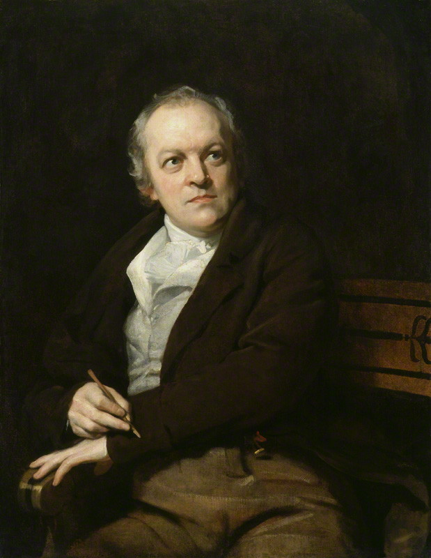 William Blake by Thomas Phillips oil on canvas, 1807 (NPG 212) © National Portrait Gallery, London Creative Commons License