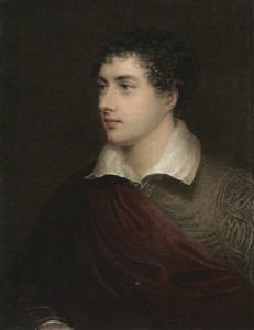 Lord Byron rose above a difficult childhood to become a successful poet.