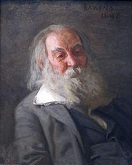 Walt Whitman by Thomas Eakins
