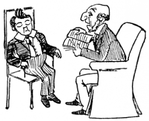 Jim had stories read to him (from Cautionary Tales for Children, by Hilaire Belloc).