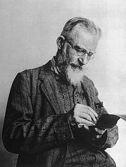 George Bernard Shaw, near the time of Pymalion's publication
