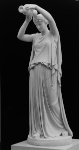Antigone Pouring a Libation over the Corpse of Her Brother Polynices by William Henry Rineahrt, 1867-18700; carved 1870 Gift of the family of John H. Hall, in his memory, 1891 (91.4) Image © The Metropolitan Museum of Art.