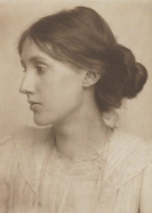 Virginia Woolf by George Charles Beresford platinum print, July 1902 (NPG P221) © National Portrait Gallery, London Creative Commons License