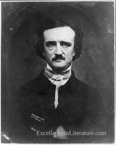 Edgar Allan Poe, from a 1904 daguerrotype.