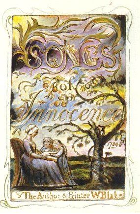 Songs of Innocence, written and illustrated by William Blake