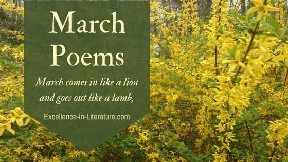March poems speak of the beauty and bluster of the month.