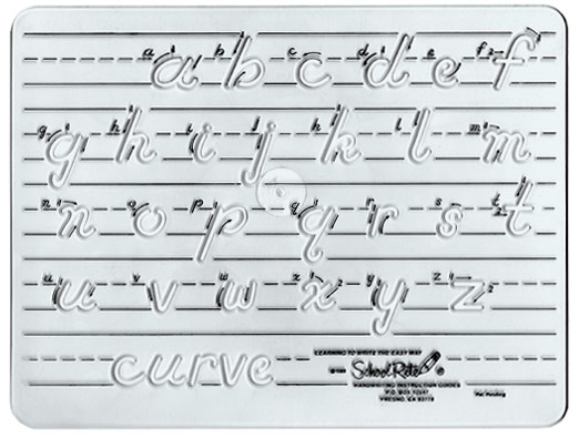 Excellence In Education: Handwriting Template:Transitional