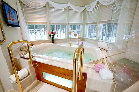 Pennsylvania Hot Tub Suites Hotel Rooms With Private