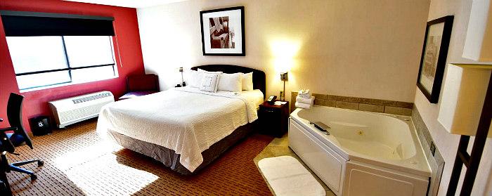 Virginia Hot Tub Suites  Romantic Hotel Rooms  Cabins