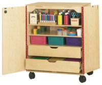 SUPPLY CABINET - daycare playground equipment - Excellent4Kids