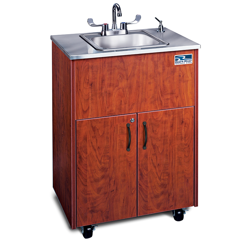 Ozark RiverPortable Hot Water Sink with Stainless Steel