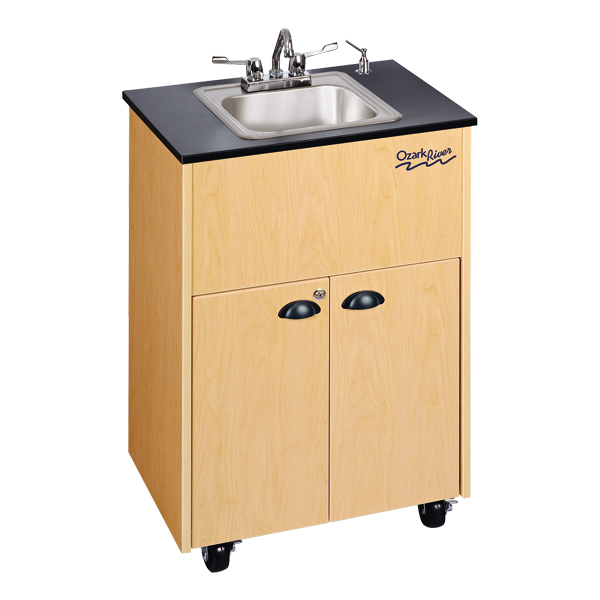 Ozark River Portable Hot Water Sink With Single Stainless