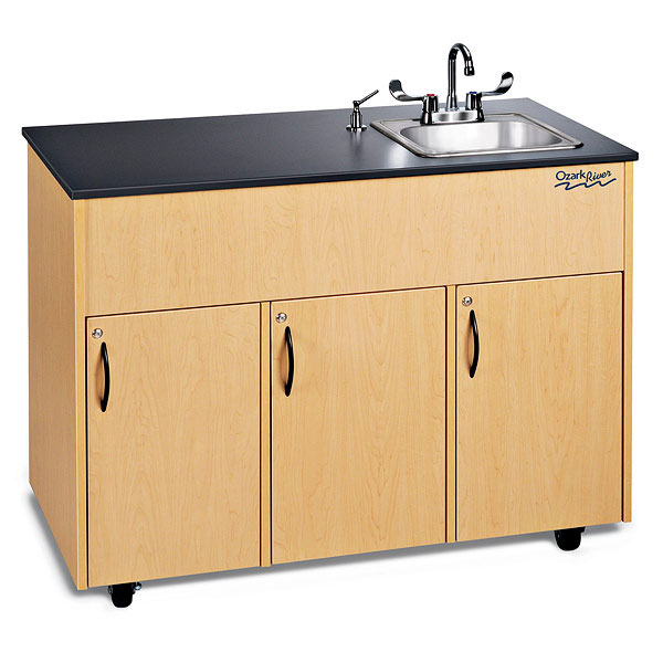 Ozark RiverAdvantage Portable Sink Single Stainless Steel