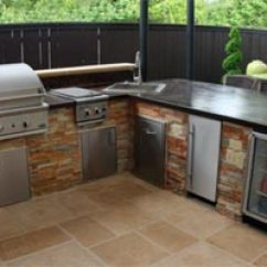 Patio Kitchen Distressed Chairs Outdoor Kitchens Dallas Texas State Fence Living Fort