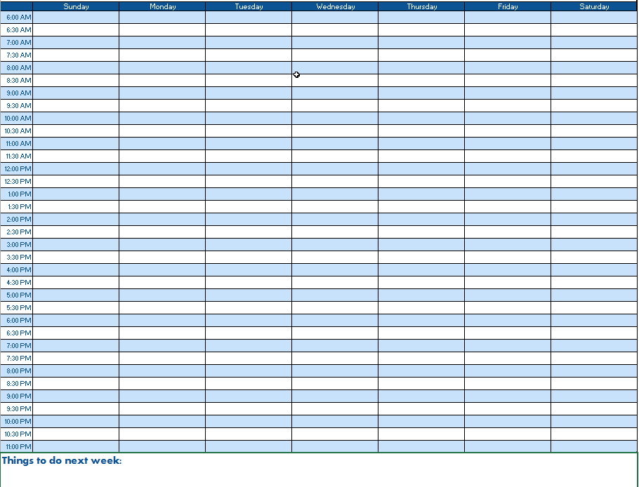 day schedule template excel - April.onthemarch.co