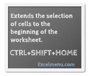 Extend selection
