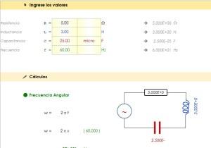 Impedancia de Circuitos RLC en Serie