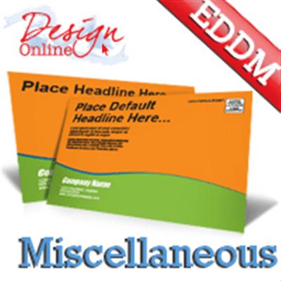 8 5x11 EDDM Postcard Printing
