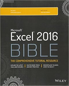 Excel 2016 the bible