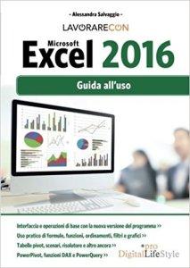 Lavorare con Excel 2016