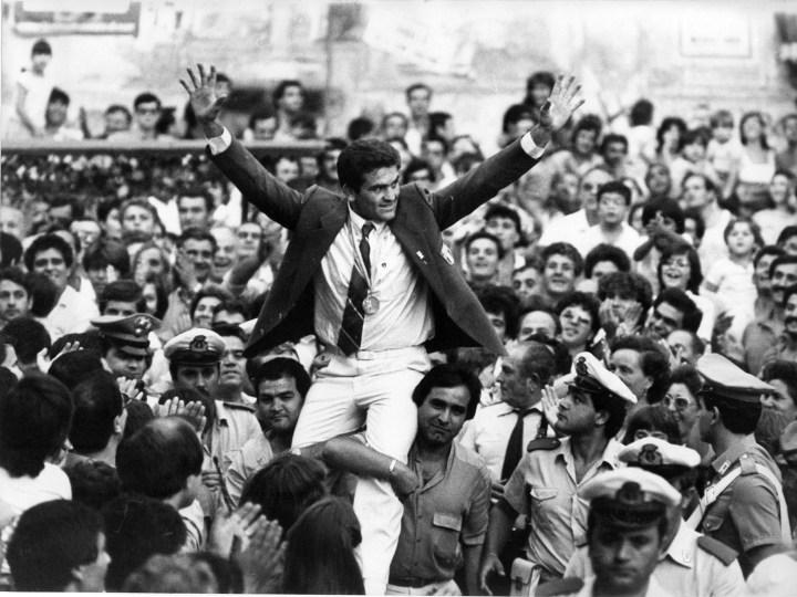 Angelo Musone ritorna a Marcianise (paese di Camillo Ciano) dopo il bronzo del 1984 a Los Angeles | numerosette.eu