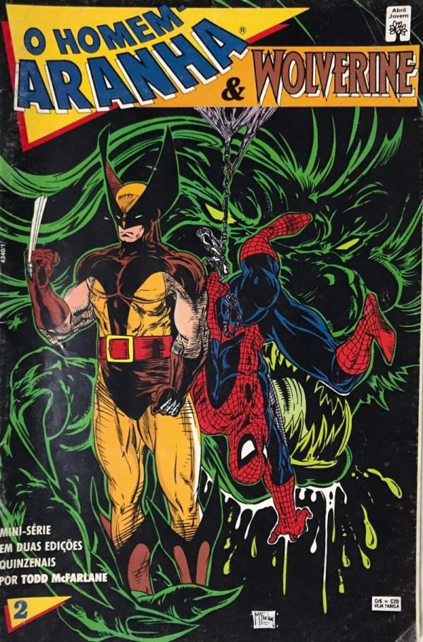 Homem-aranha & Wolverine 2 Excelsior Comic