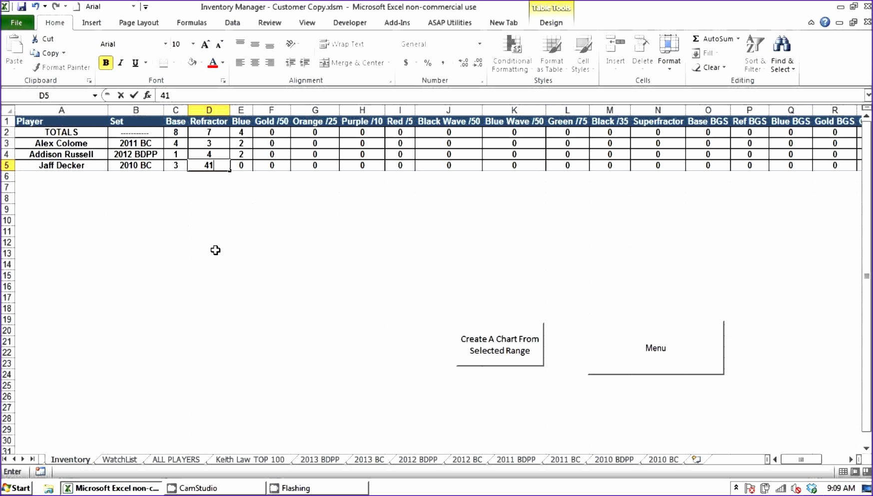 6 Contact Information Template Excel