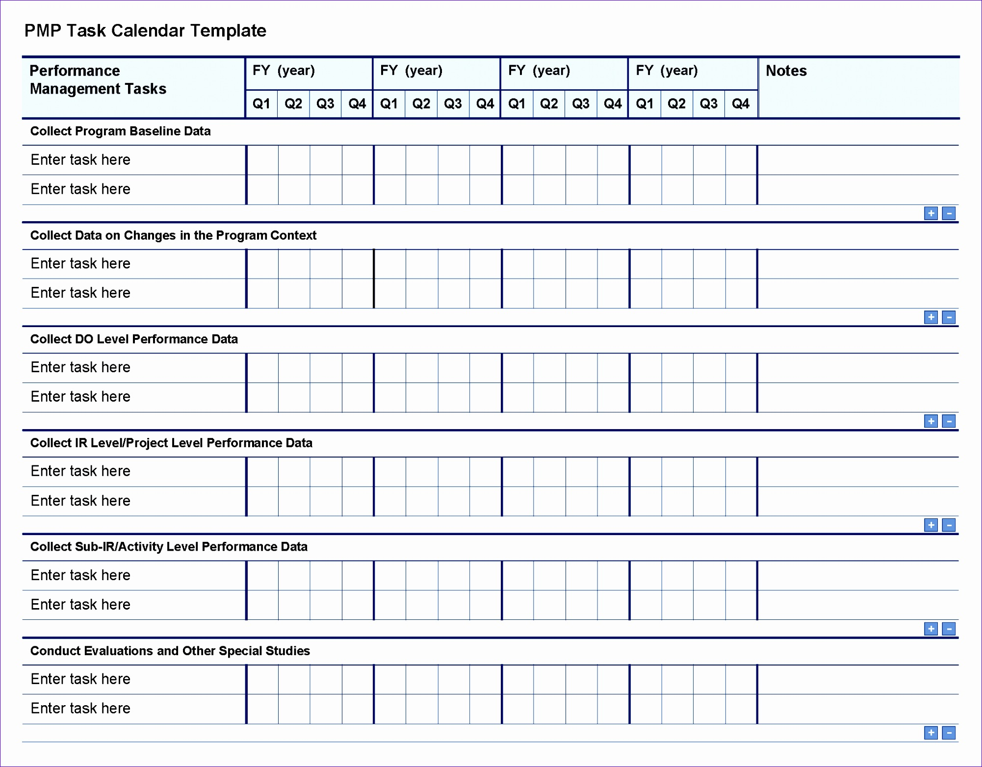 5 Excel Timeline Template