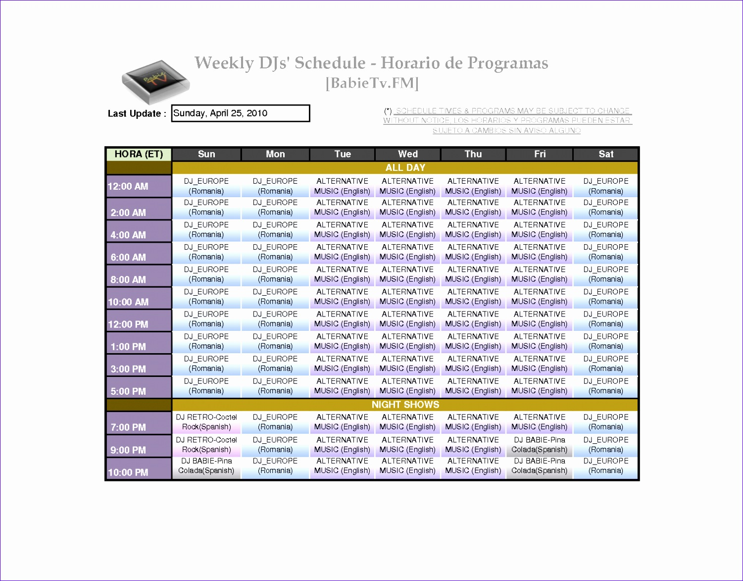 7 Monthly Staff Schedule Template Excel