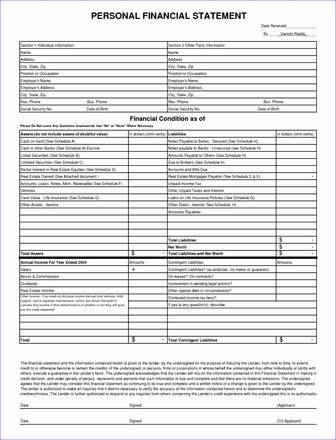 9 Ms Excel Mortgage Qualification Worksheet Template