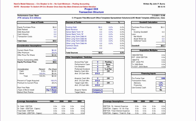 10 Pro Forma Financial Statements Excel Template Excel Cute766