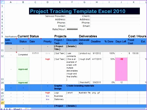 Deliverables Template Free Download Elsevier Social