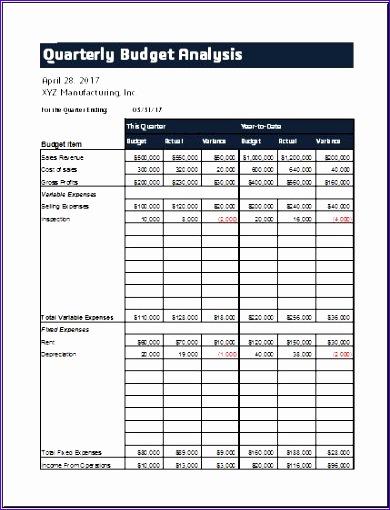 10 Quarterly Sales Report ExcelTemplates ExcelTemplates