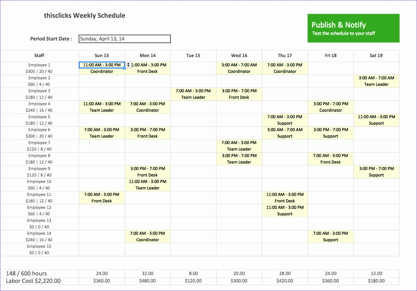8 Sales Forecasting Excel Template
