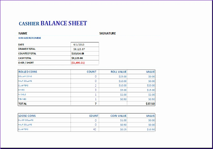7 Small Business Account Sheet Cash Flow Projection - ExcelTemplates ...