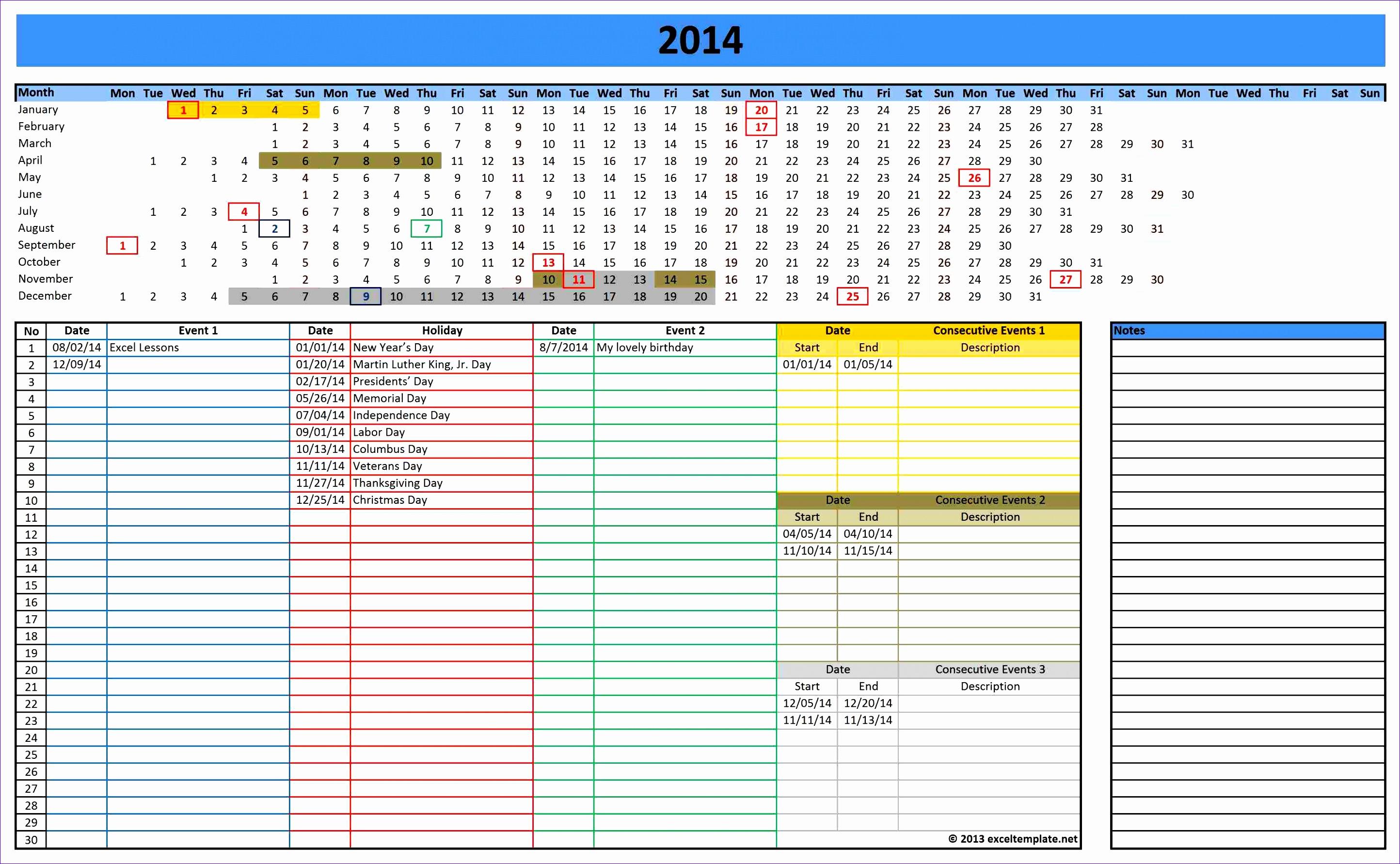 10 Staff Rota Template Excel