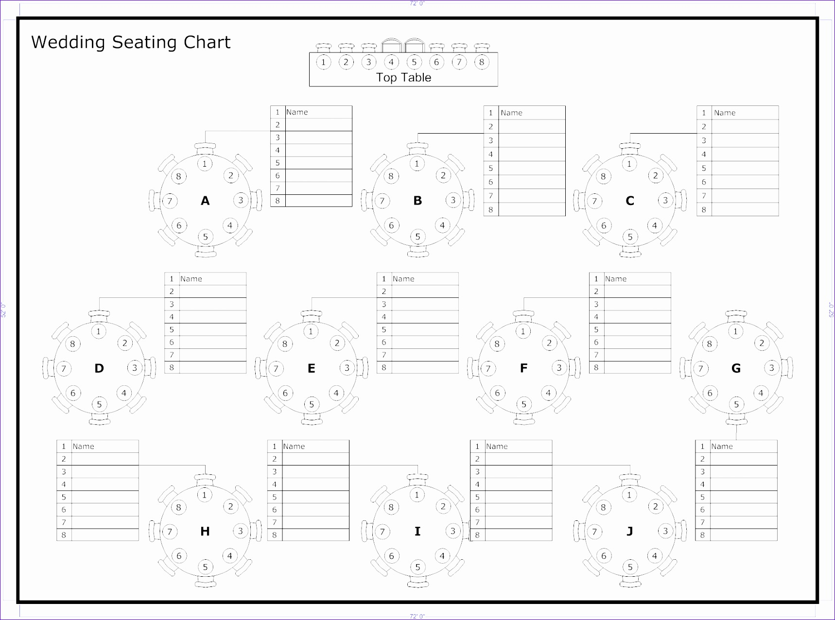 10 Wedding Seating Plan Template Excel