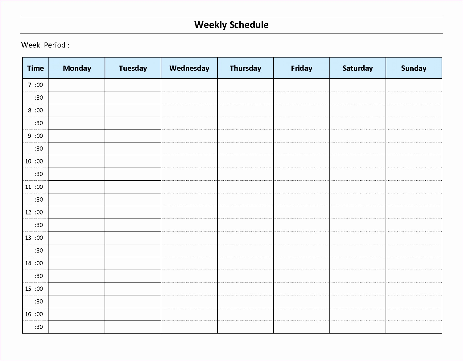 Work Hours Excel Template Fvxig Unique 168 Week Calendar