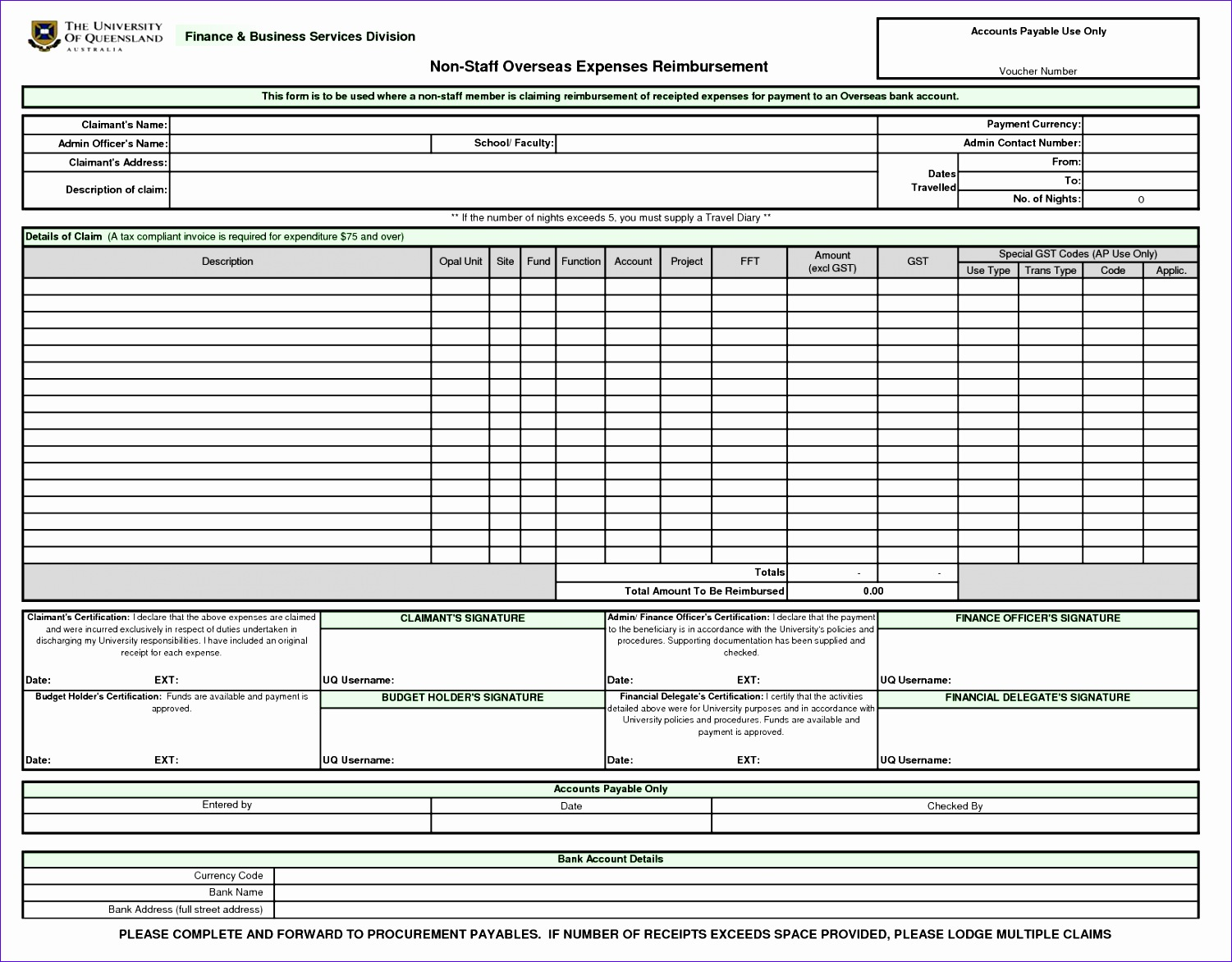 10 Accounts Payable Excel Template
