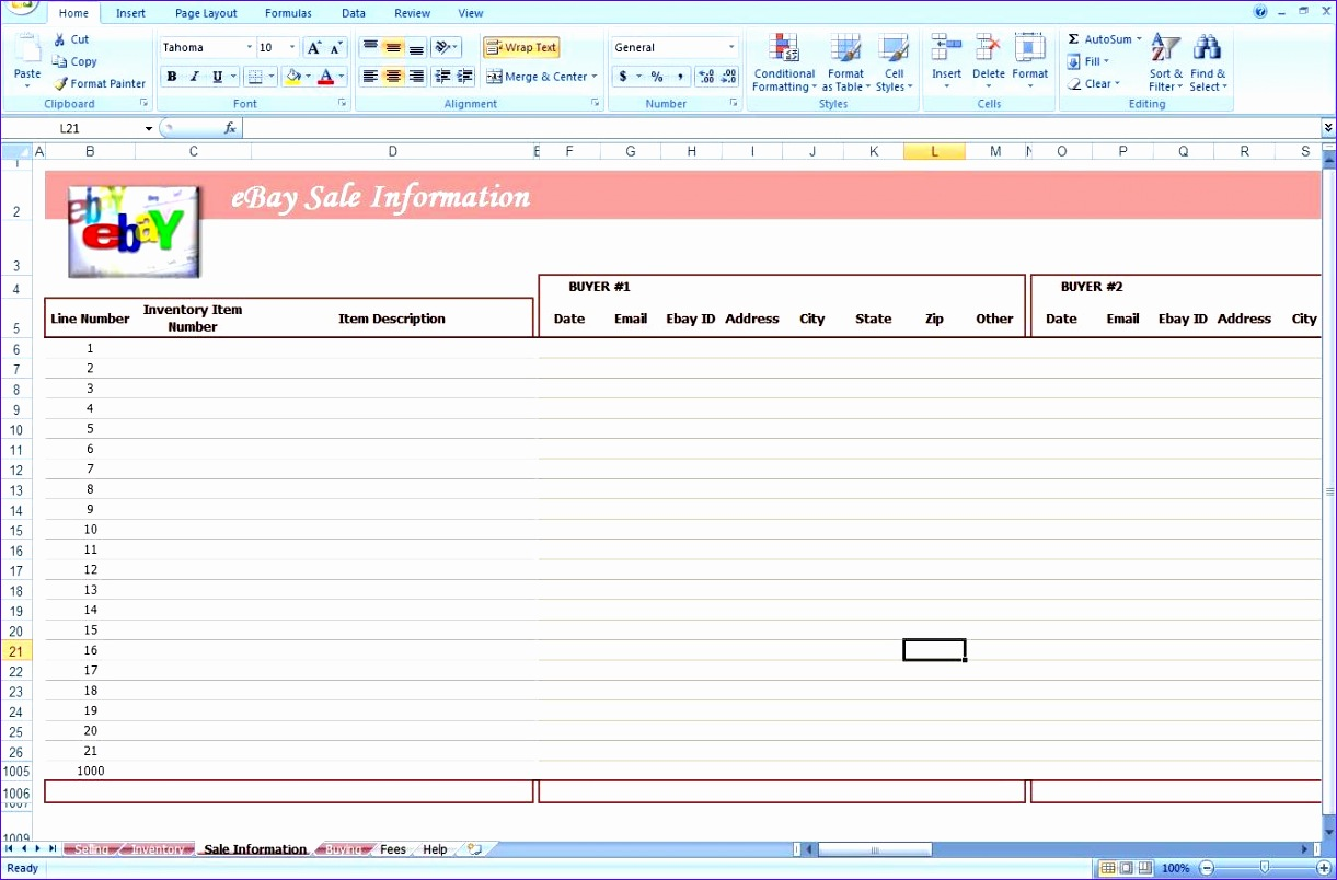 6 Best Excel Budget Template