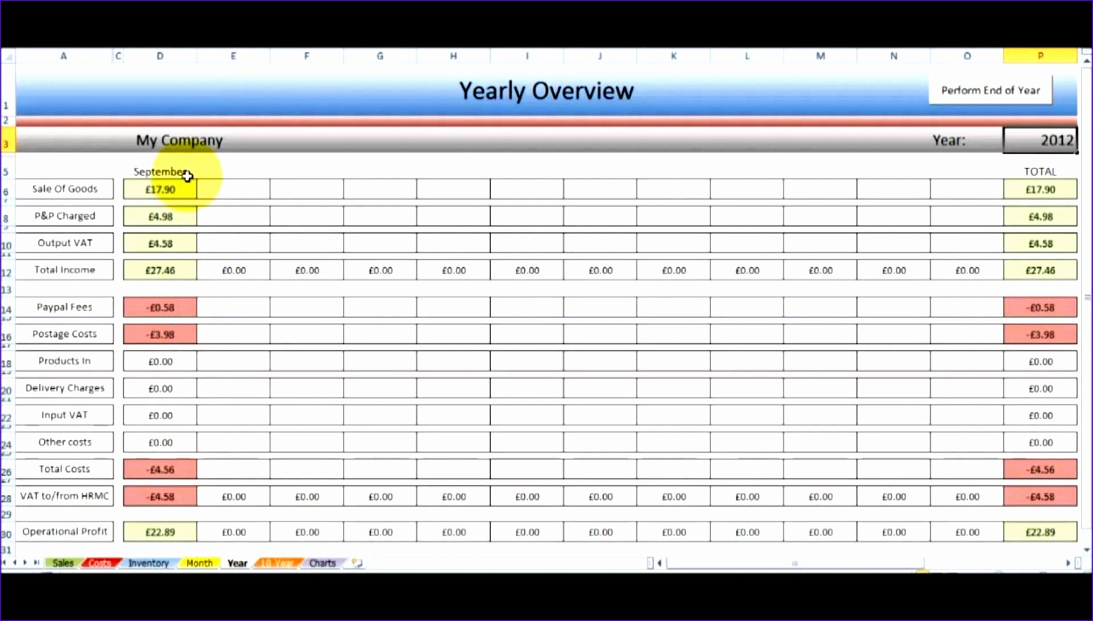 12 Business Excel Spreadsheet Templates
