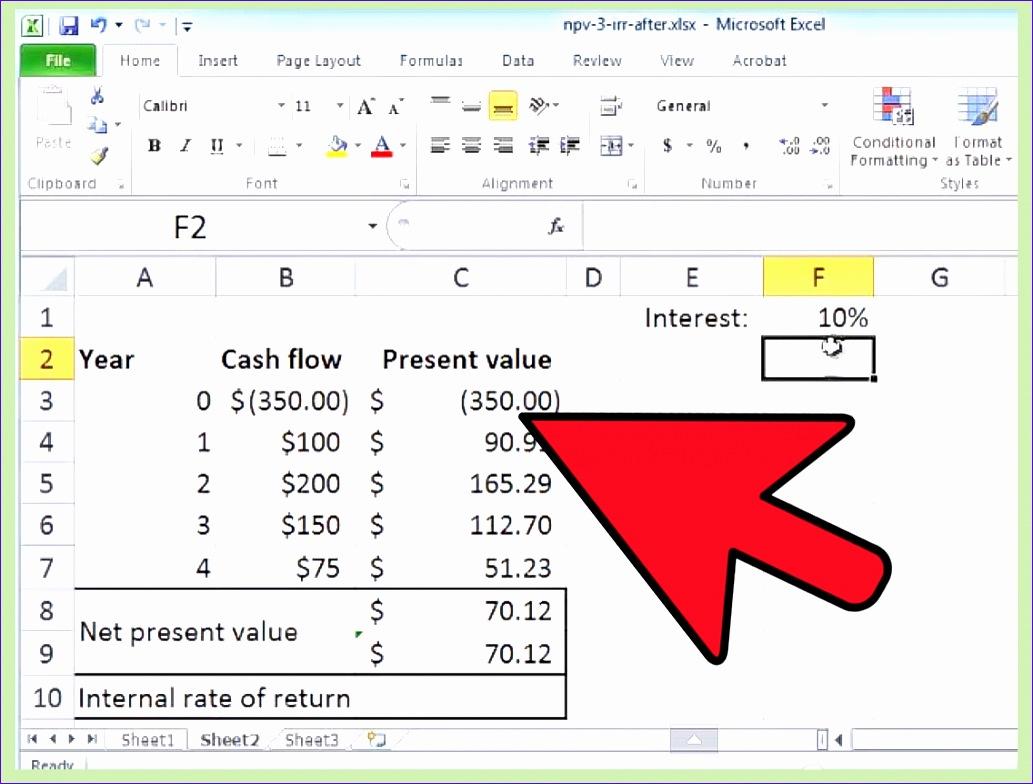 8 Cash Flow Excel Spreadsheet Template