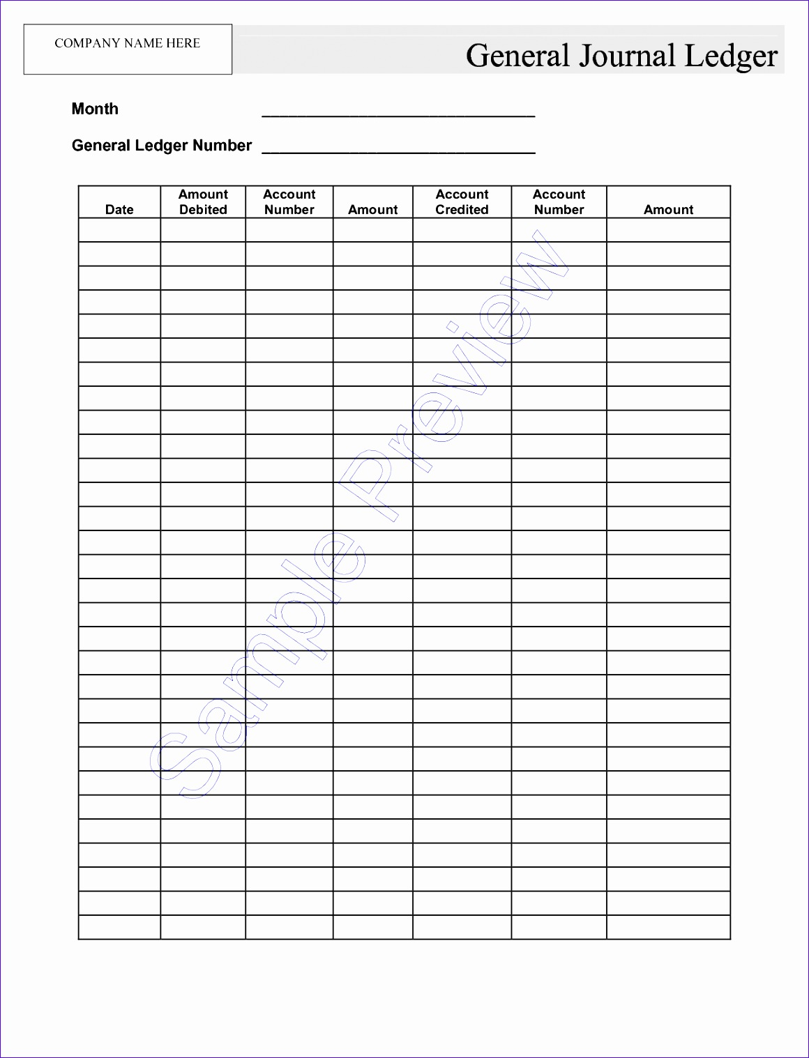 9 Chart Of Accounts Excel Template