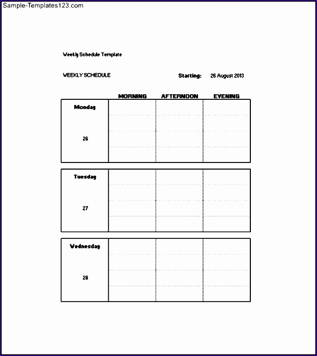 Weekly To Do List Template Weekly To Do List Template Weekly To
