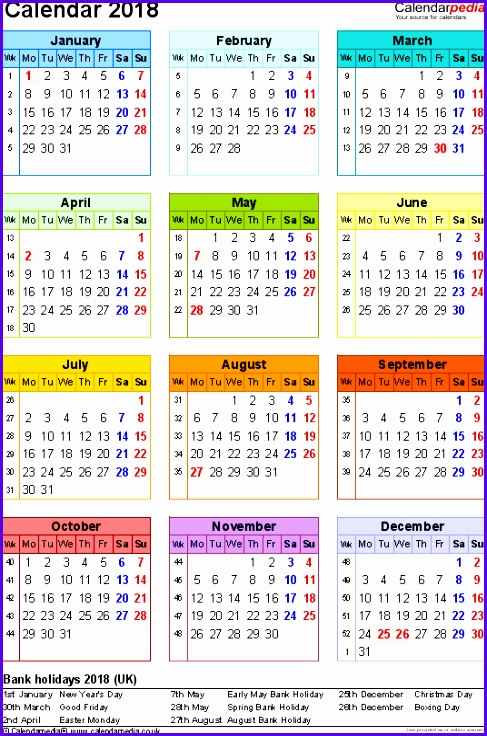 6 Rota Template Excel ExcelTemplates ExcelTemplates